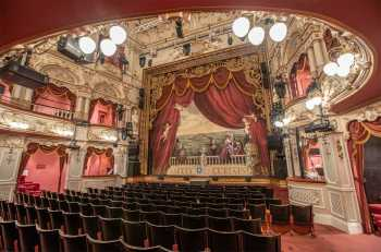 Lyceum Theatre, Sheffield: Stalls House Right under Royal Circle