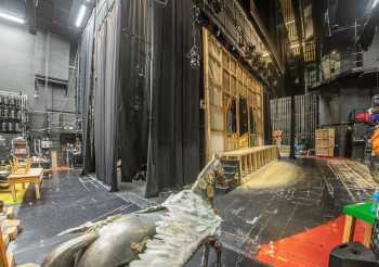 Lyceum Theatre, Sheffield: Panorama from Upstage Left