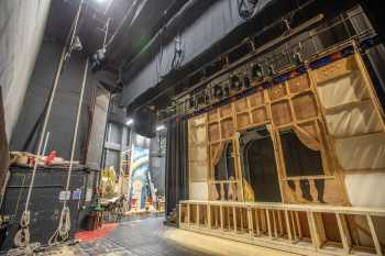 Lyceum Theatre, Sheffield: Stage from Rear Scene Dock