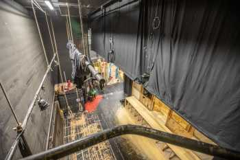 Lyceum Theatre, Sheffield: Rear Scene Dock from Stage Right Fly Floor