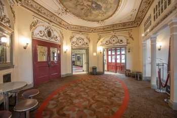 Lyceum Theatre, Sheffield: Main Entrance Lobby from Cloakroom