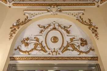 Lyceum Theatre, Sheffield: Main Entrance Lobby decoration above doorway