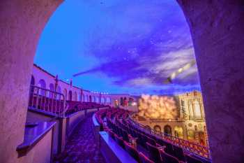 Orpheum Theatre, Phoenix: Balcony from House Right side