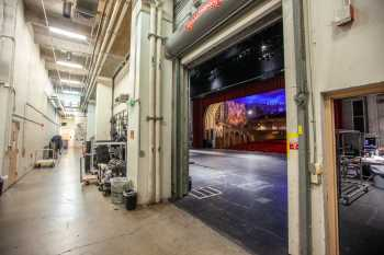 Orpheum Theatre, Phoenix: Rear Stage Corridor from Upstage Right