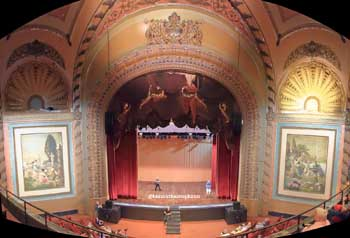 Palace Theatre, Los Angeles: Auditorium from Balcony