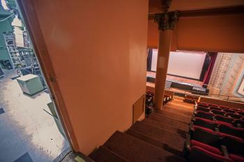 Projection Booth from Balcony rear