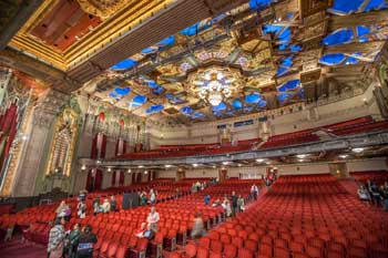 Pantages Theatre, Hollywood: Auditorium during Open House event
