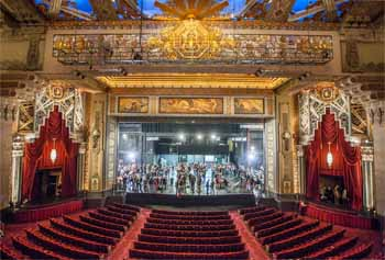 Pantages Theatre, Hollywood: Balcony Center View