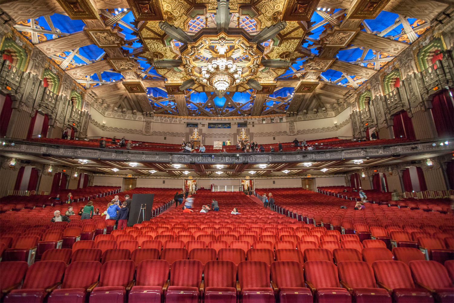 Pantages Theatre, Hollywood: Orchestra Reverse View