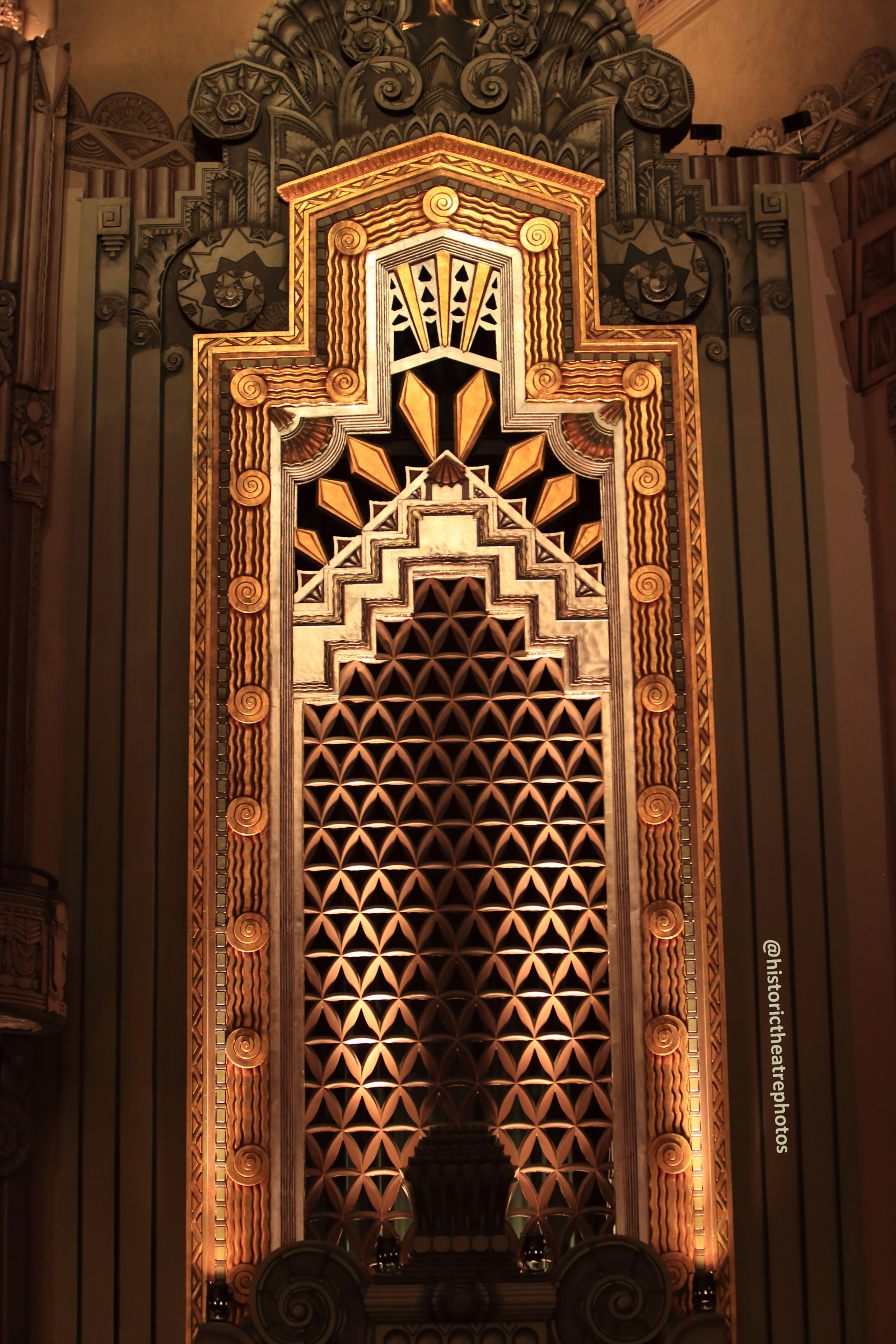 Pantages Theatre, Hollywood: Organ Chamber