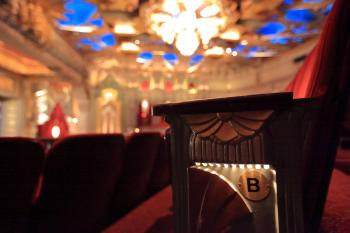 Pantages Theatre, Hollywood: Seat Standard