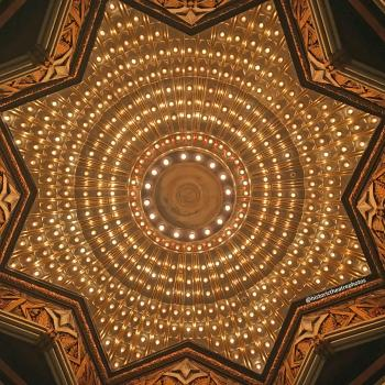 Pantages Theatre, Hollywood: Exterior/Ticket Lobby Starburst Ceiling