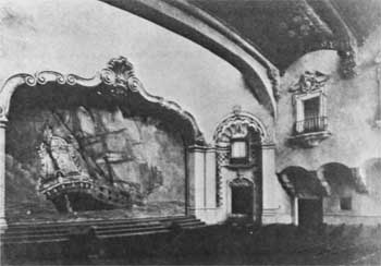 The Playhouse's Spanish Colonial Revival style, as photographed in June 1926
