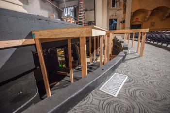 Pasadena Playhouse: Orchestra Pit with Temporary Rostra