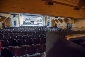 Pasadena Playhouse: View from Orchestra Rear Sound Control