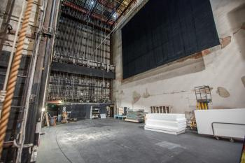 Pasadena Playhouse: Stage from Downstage Left