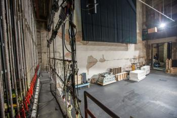 Pasadena Playhouse: Stage from Fly Floor Downstage