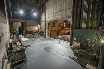 Pasadena Playhouse: Stage from Fly Floor Upstage