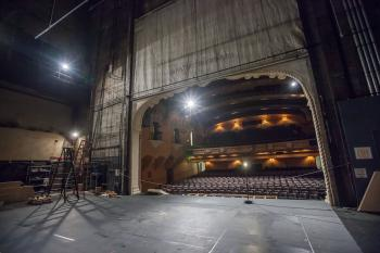 Pasadena Playhouse: Stage from Upstage Right