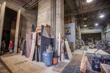 Pasadena Playhouse: Scenic Workshop showing Dock Doors to Stage