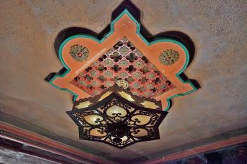 Rialto Theatre, South Pasadena: Balcony Soffit Light Fixture