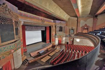 Rialto Theatre, South Pasadena: Balcony left