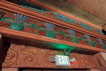 Rialto Theatre, South Pasadena: Orchestra Exit detail