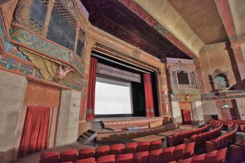 Rialto Theatre, South Pasadena: Orchestra/Main Floor left