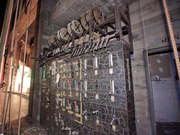 Rialto Theatre, South Pasadena: Lighting Switchboard