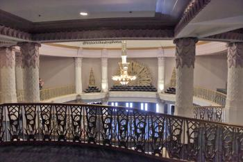 Saban Theatre, Beverly Hills: Balcony level of Lobby