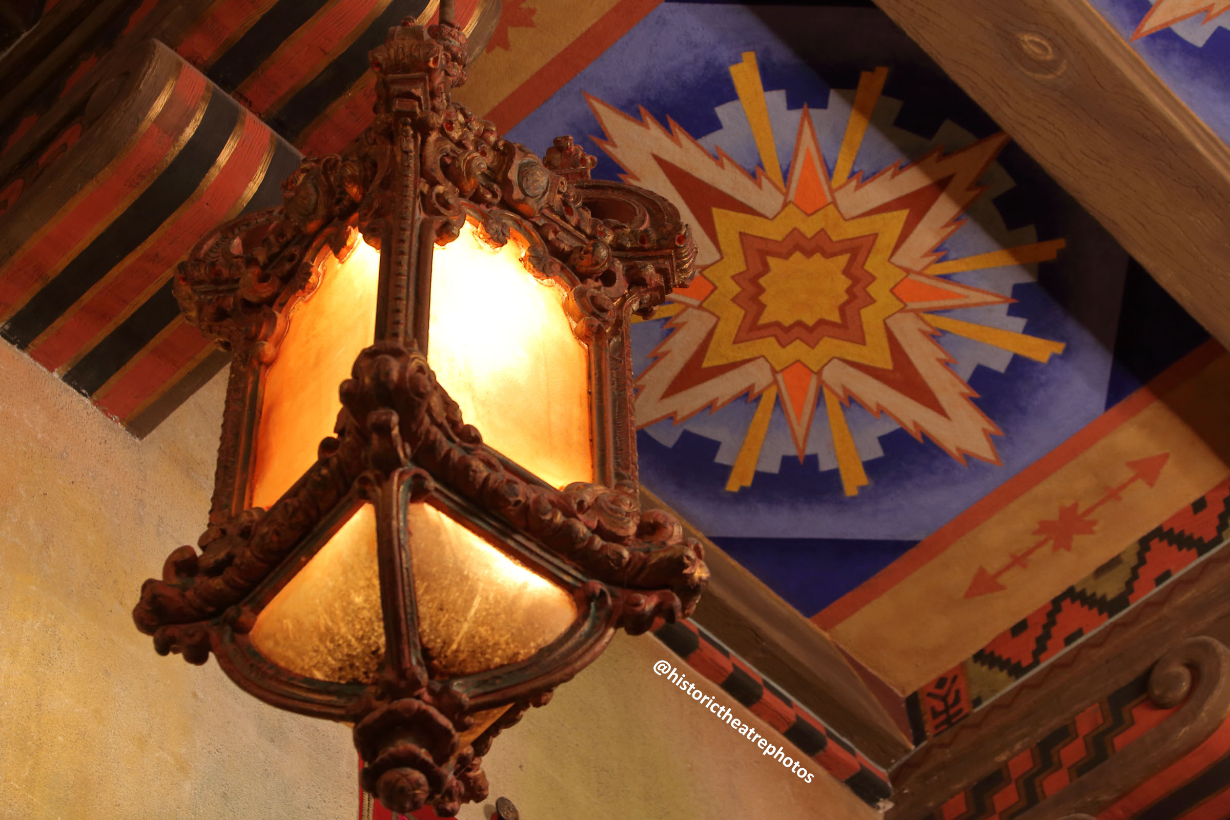 San Gabriel Mission Playhouse: House Lanterns inspired by Spanish Galleons