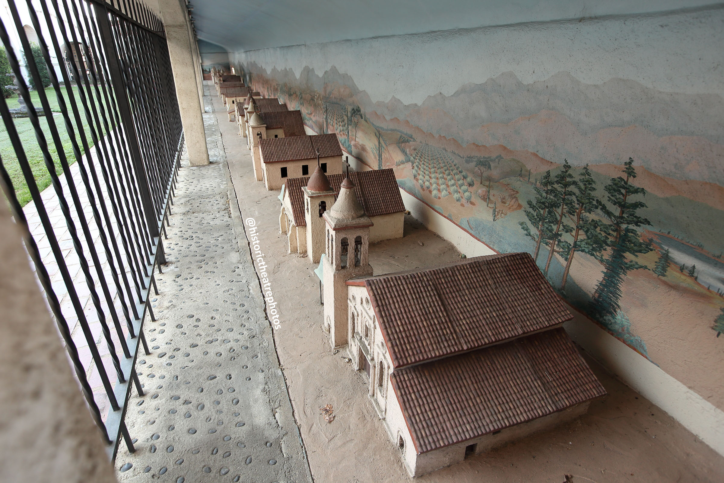 San Gabriel Mission Playhouse: 1930s California Mission models