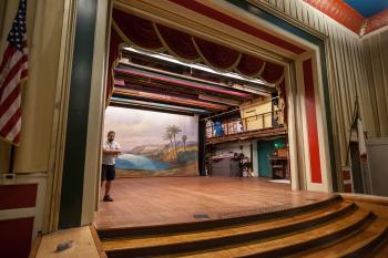 Austin Scottish Rite Theater: Forestage