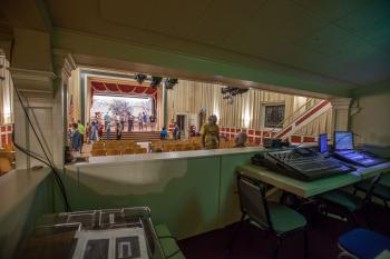 Austin Scottish Rite Theater: Sound mix position