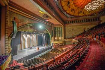 Shrine Auditorium, University Park: Auditorium from Balcony Left cross-aisle