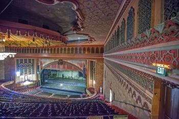 Shrine Auditorium, University Park: Auditorium from Upper Balcony Right wall