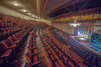 Shrine Auditorium, University Park: View across Upper Balcony from House Right