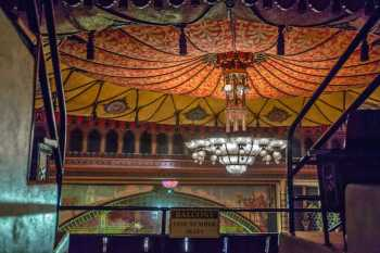 Shrine Auditorium, University Park: Chandelier from Balcony Vomitory