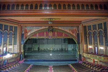 Shrine Auditorium, University Park: Stage from Balcony Center