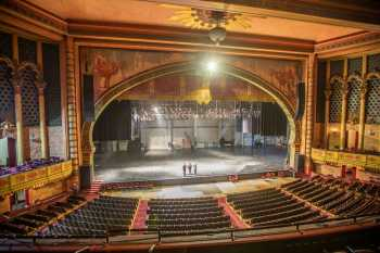 Shrine Auditorium, University Park: Stage from Balcony Left Front
