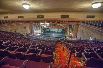 Shrine Auditorium, University Park: Rear Balcony Right on Aisle