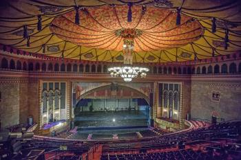 Shrine Auditorium, University Park: Stage from Upper Balcony Left