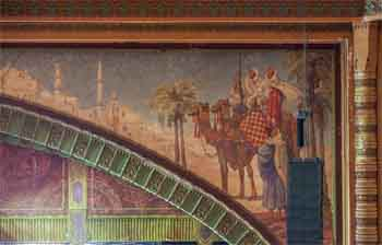 Shrine Auditorium, University Park: House Right Proscenium detail