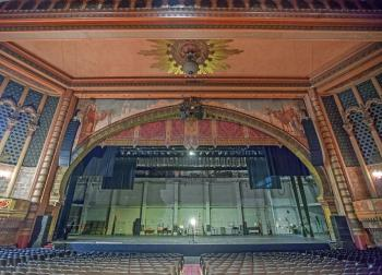 The Shrine's Proscenium Arch is 100ft wide and 37ft high