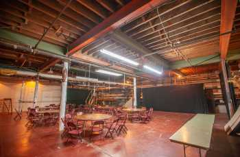 Shrine Auditorium, University Park: Trap Room looking to Stage Right