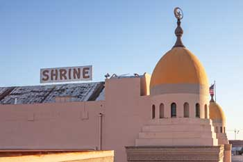 Shrine Auditorium, University Park: Auditorium Roof and Dome