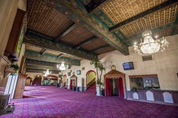 Shrine Auditorium, University Park: Interior Lobby