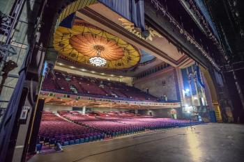 Shrine Auditorium, University Park: Stage and Auditorium from Downstage Left