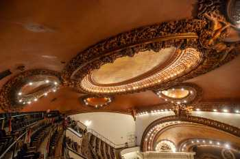 Spreckels Theatre, San Diego: Auditorium Ceiling from Right