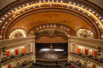 Spreckels Theatre, San Diego: Balcony Front Center